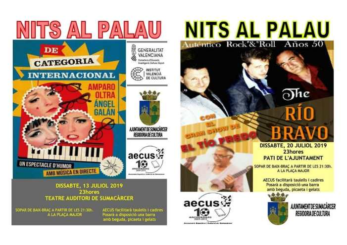 Sumacàrcer celebra una nova edició de 'Nits al Palau'