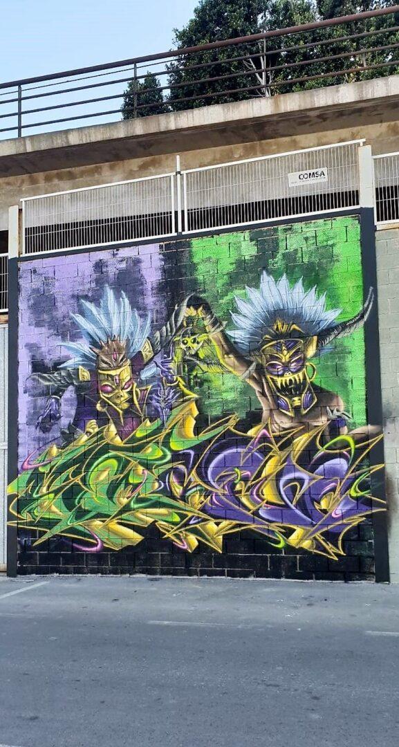 Burjassot suma noves intervencions d'art urbà gràcies als seus artistes locals