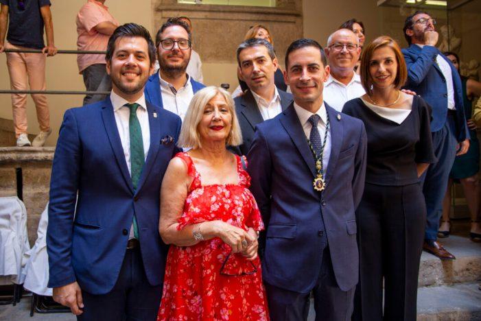 Bielsa pren possessió com a diputat provincial en la sessió de constitució