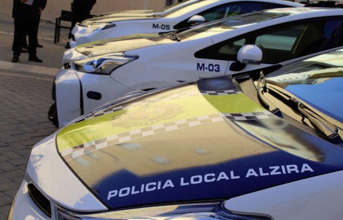 Tres detencions de la Policia Local d'Alzira en els últims dies