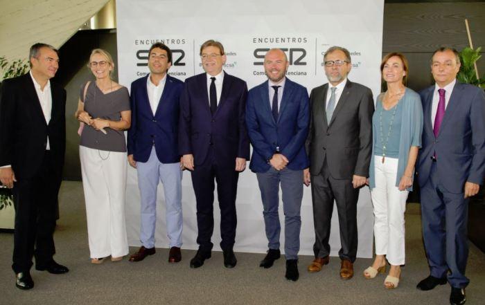 Ximo Puig assisteix al fòrum Encuentros SER amb els presidents de les diputacions d'Alacant, Castelló i València