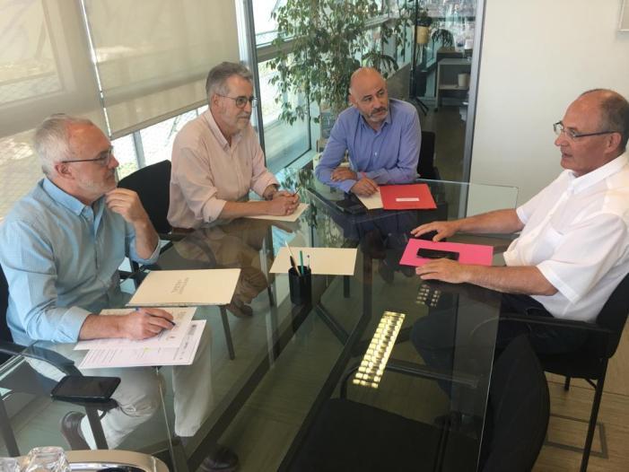 La Conselleria d'Obres Públiques reitera el seu compromís de contribuir al finançament de l'estació d'Albal