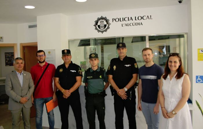 Reunió de la Junta Local de Seguretat de l'Alcúdia