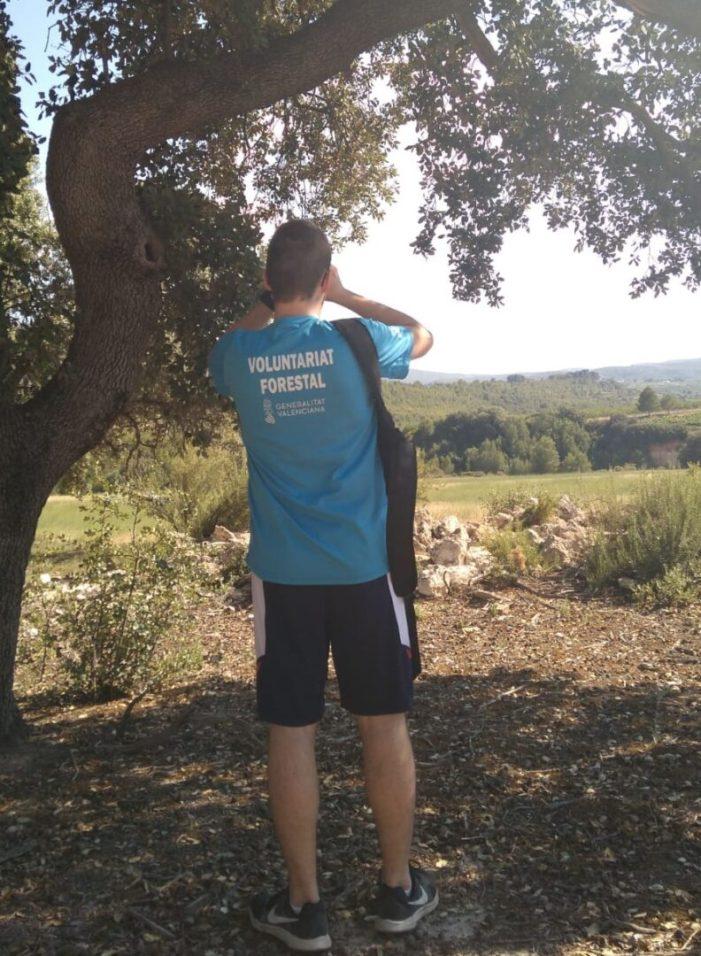 Més de 4.000 persones realitzen voluntariat en prevenció d'incendis forestals en iniciatives finançades per la Generalitat