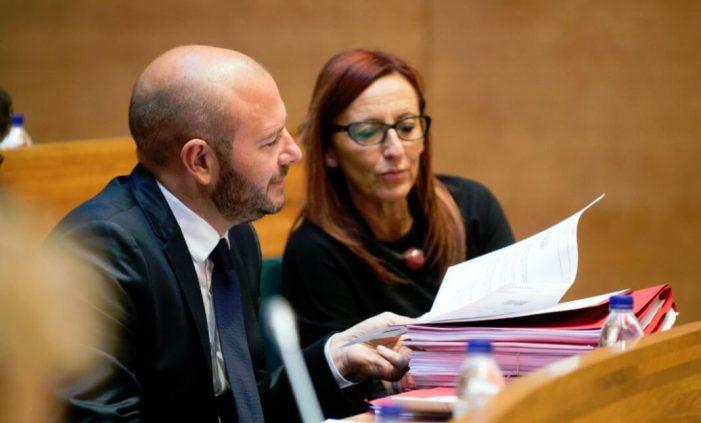 Acord de govern en la Diputació de València