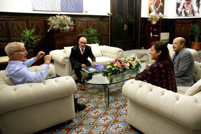 Reunió alcalde Joan Ribó amb CERMI