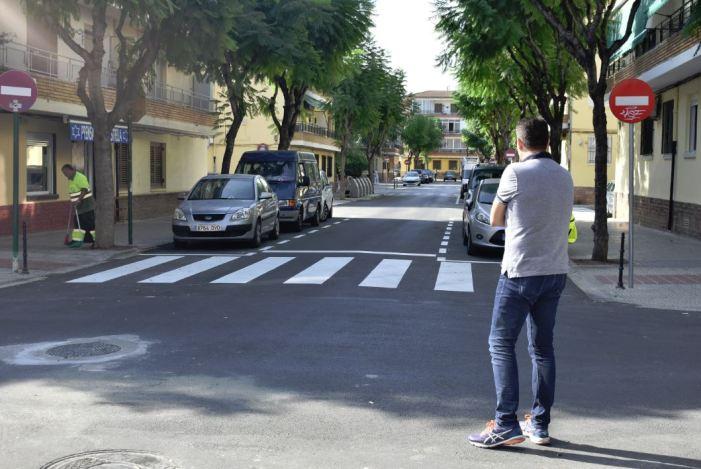 Finalitzen les obres de reasfaltado i millora de diferents carrers del Barri Orba i Alfalares