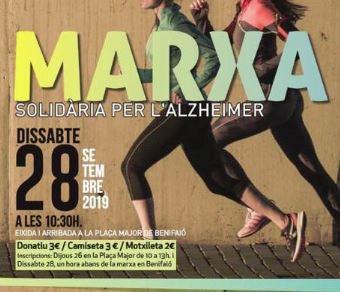 AFABALS ultima la preparació de la seua Marxa solidària per l'Alzheimer a Benifaió