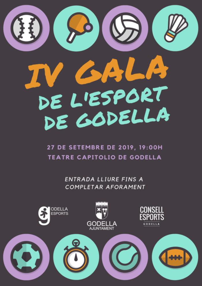 Godella reconeixerà els mèrits dels seus esportistes en una nova Gala de l'Esport