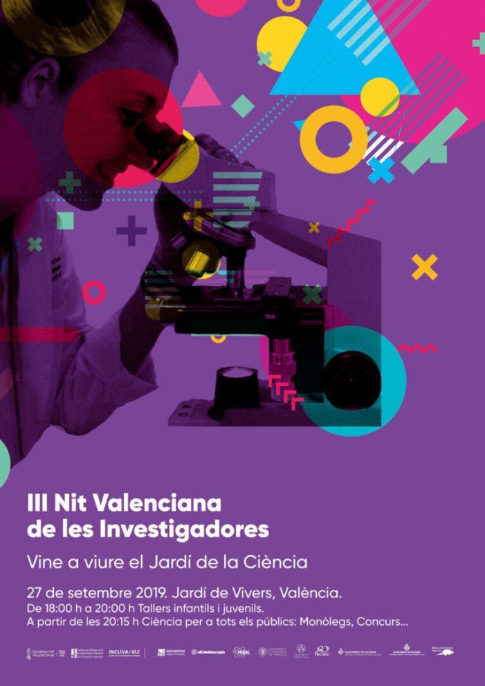 La Universitat visibilitza les científiques en la III Nit Valenciana de les Investigadores