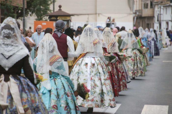 La tradicional Ofrena de Flors es va celebrar el passat 7 de setembre coincidint amb les Festes Majors del municipi