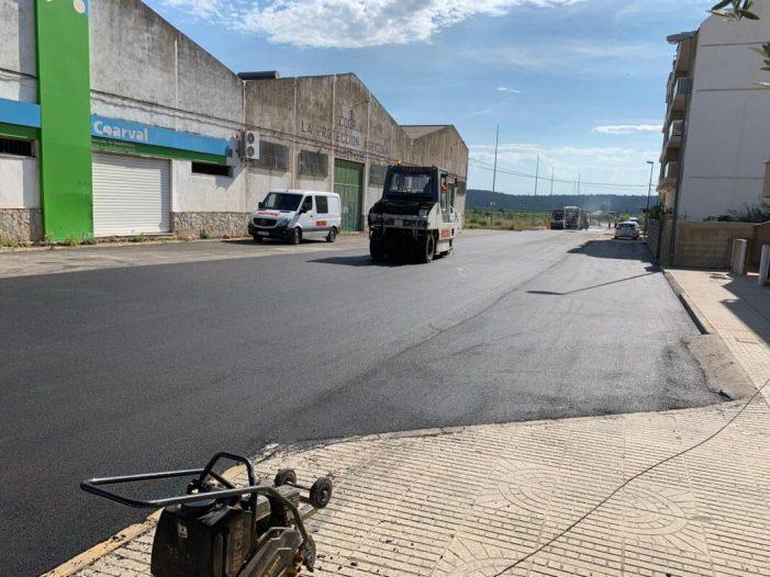 Alberic escomet millores urbanes per valor de més d'un milió d'euros