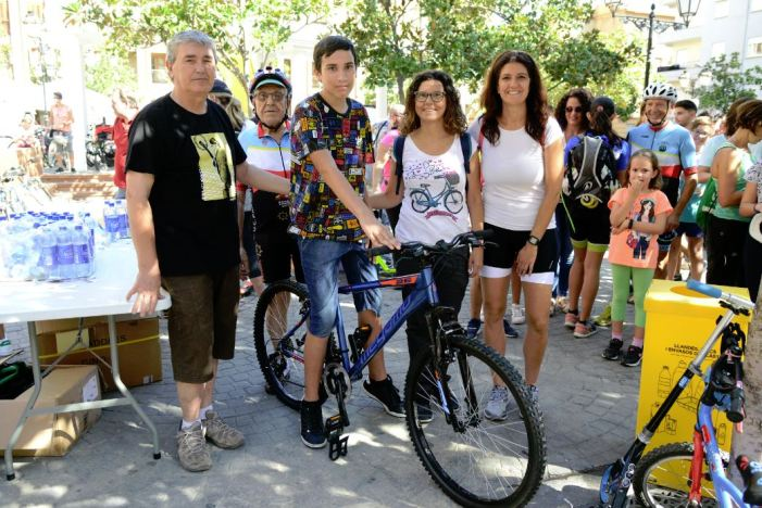Més de 300 persones participen en el Dia de la Bici, que tanca la Setmana de la Mobilitat Sostenible de Paiporta