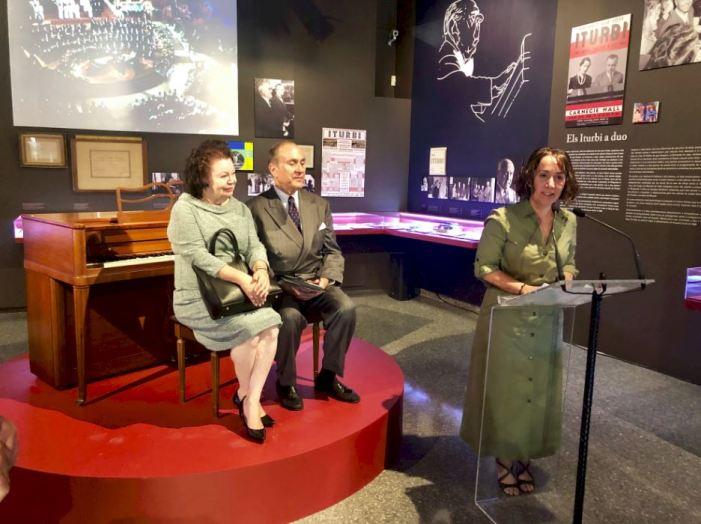 El Centre Cultural la Beneficència acull fins al diumenge l'exposició sobre Amparo i José Iturbi