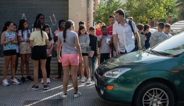 Prop de 2.000 alumnes ixen de les aules per a reivindicar com volen els carrers de València