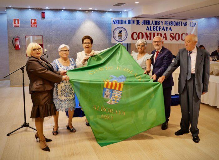 L'Associació de Jubilats i Pensionistes d'Alboraia celebra el seu Menjar de Germanor