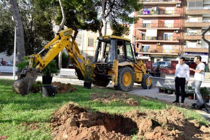 Burjassot comptarà amb 206 nous arbres i 937 nous arbustos als seus carrers i espais oberts