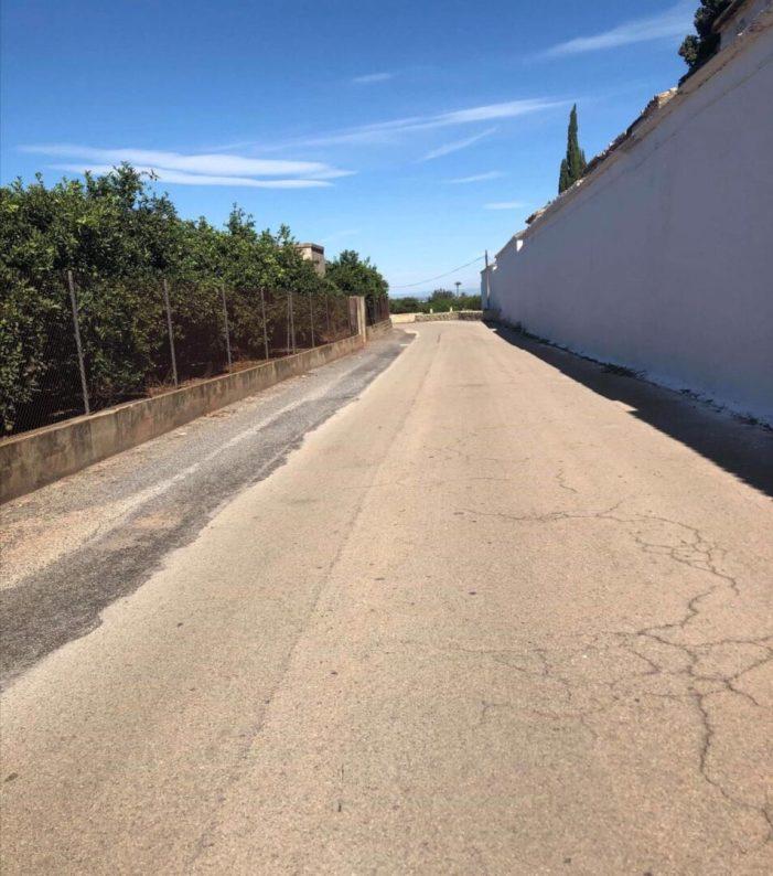 El PP d'Alzira adverteix del mal estat dels camins rurals