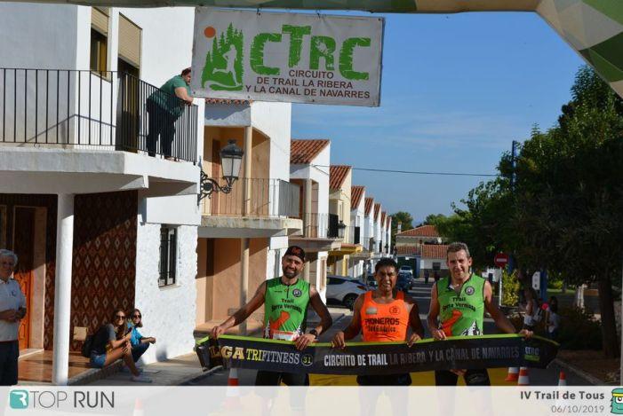 Maldonado i Murcia vencen en la prova reina del Trail de Tous