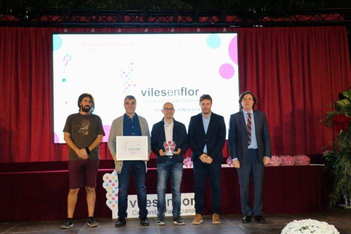 Alaquàs aconsegueix la màxima puntuació al certamen Viles en Flor 2019