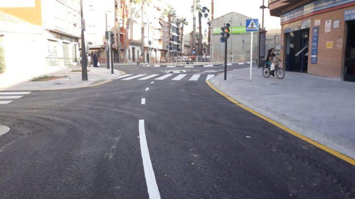 Torrent obri al trànsit la nova rotonda de Quatre Camins