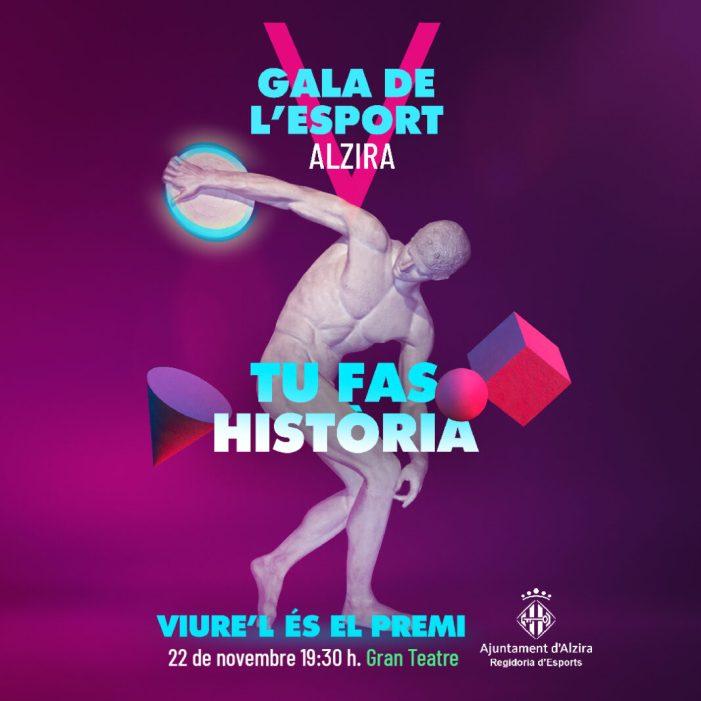 El divendres 22 de novembre el Gran Teatre acull la quinta edició de la Gala de l'Esport