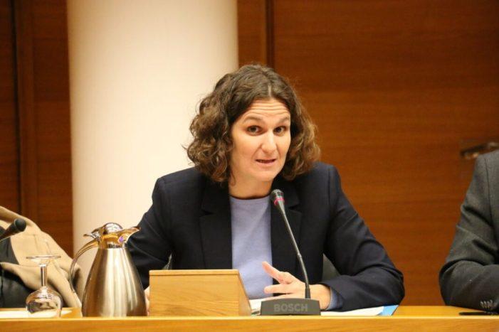 Paula Tuzón exposa els eixos de l'Estratègia Valenciana de Canvi Climàtic i Energia i l'avanç de les mesures d'adaptació i mitigació posades en marxa