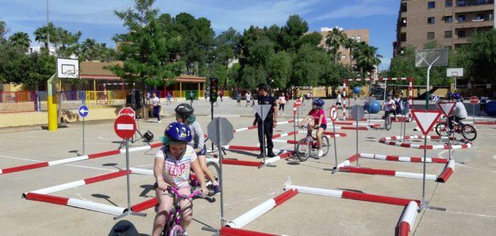20 aniversari de les campanyes d'educació viària amb visites al parc d'educació viària de Gilet