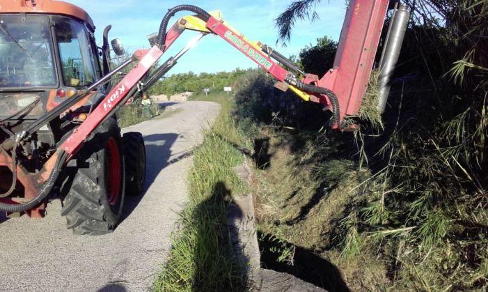Vora 400.000€ en millores dels camins rurals d'Alzira