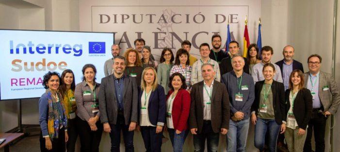 La Diputació acull l'inici del projecte europeu REMAS, clau en la lluita contra el canvi climàtic