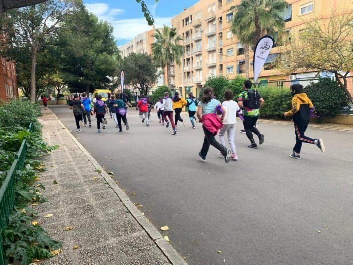 El col·legi La Fila d'Alfafar celebra La Marató al Col·le