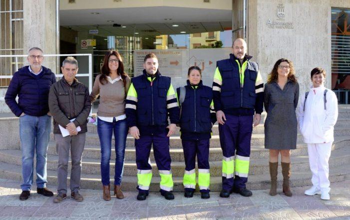 Paiporta incorpora quatre treballadores i treballadors a la plantilla amb el programa Emcorp