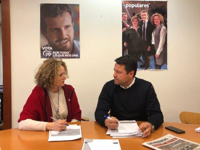 Folgado i Montero es reuneixen per a parlar de les inversions pendents per la Diputació a Torrent