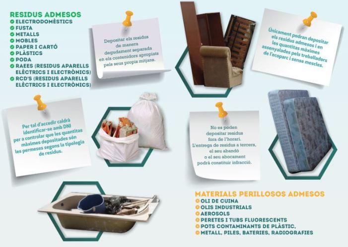 L'Ajuntament d'Alzira llança una campanya de sensibilització per a no deixar residus voluminosos als carrers