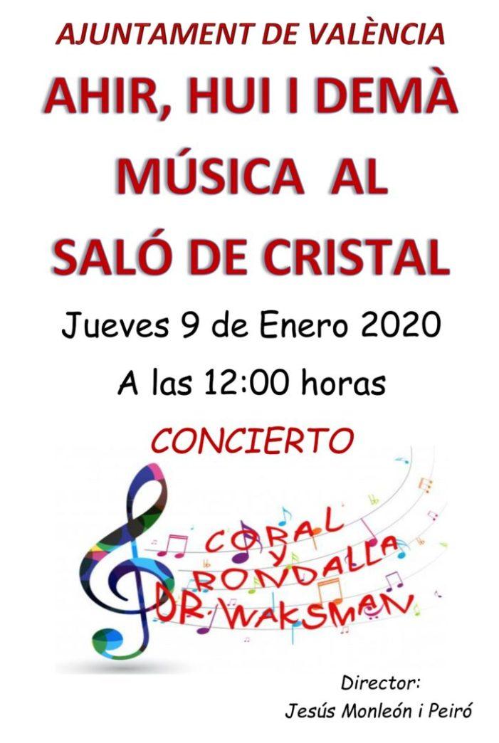 El cicle musical Els Concerts dels Dijous estrena la temporada 2020 amb l'actuació de la Coral i Rondalla Dr. Waksman