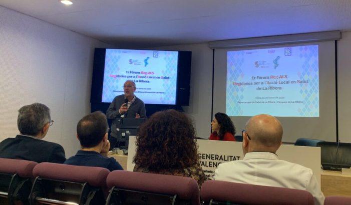Alzira ha participat en el Fòrum de les Regidories per a l'Acció Local en Salut de la Ribera