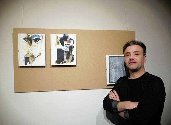 L'artista Rubén Yago exposa la seua nova col·lecció d'obres a Almussafes