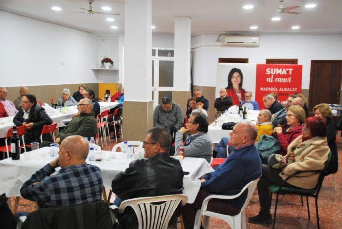 La Secretària d'Igualtat del PSPV acosta a l'agrupació municipal de Paiporta l'agenda feminista socialista amb motiu del 8M