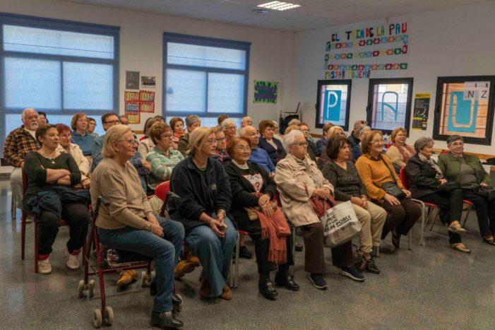 Els majors de Picassent participen d'una xarrada sobre la prevenció de l'ictus