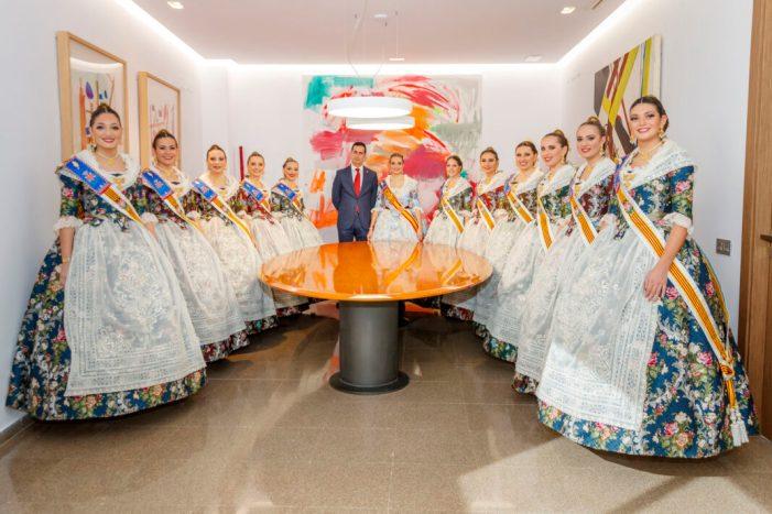 Mislata rep a la Fallera Major de València 2020 i presenta la imatge de les pròximes festes