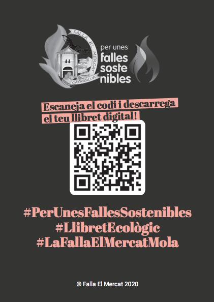 La Falla el Mercat de Catarroja presenta la seua proposta de llibret sostenible
