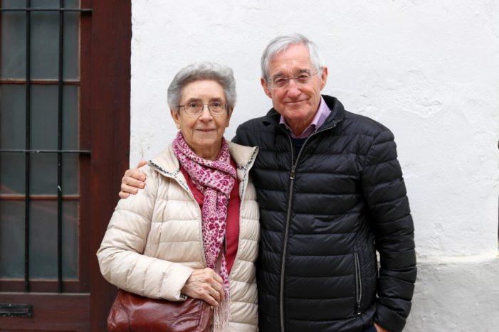 Torrent homenatja a Rosa Ortí i Alfred Domínguez, Filla Predilecta i Fill Adoptiu de la ciutat