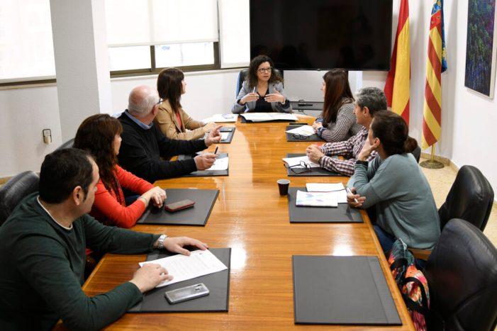 Reunió extraordinària del govern de Paiporta per a analitzar les conseqüències del coronavirus Covid-19