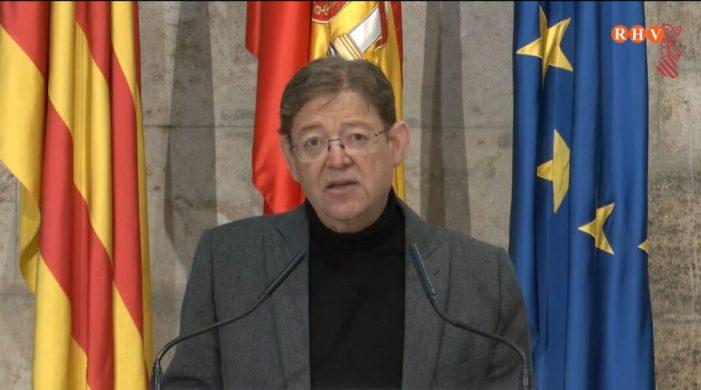 Ximo Puig destaca el funcionament del sistema sanitari valencià enfront de la crisi de l'epidèmia
