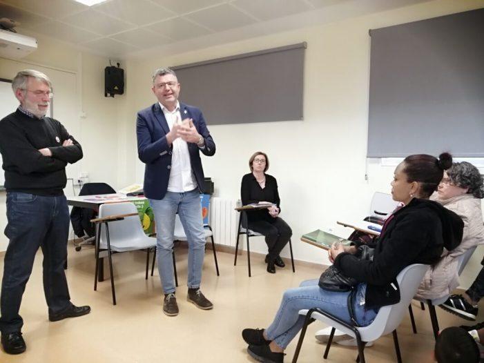 El programa Voluntariat pel Valencià 2020 unix a 16 parelles a Almussafes