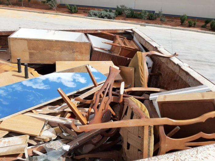 Es desploma l'entrada de residus en l'ecoparc fix d'Alboraia en l'Estat d'Alarma