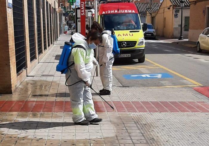 Torrent continua amb les tasques  de desinfecció i protecció de la població