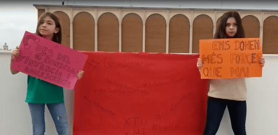 El Consell de la Infància i l'Adolescència d'Almussafes anima a la població durant el confinament