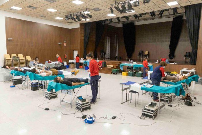 Picassent registra 57 donacions de sang en la jornada del 3 abril