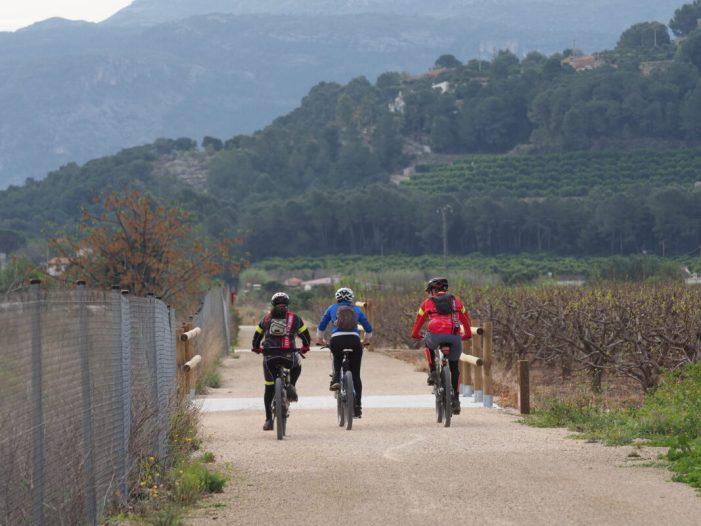 El Ministeri d'Agricultura, Pesca i Alimentació finalitza les obres de condicionament d'un tram del Camí Natural de l'Antic Trenet (València)